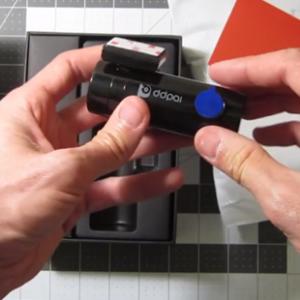 DDPai mini2 dash cam in use